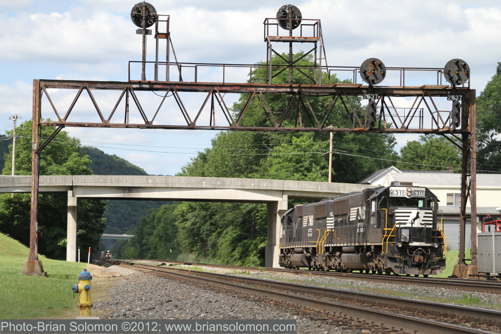 Signals at Summer Hill, Pennsylvania