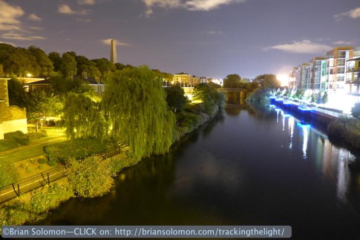 River Liffey at 2am.