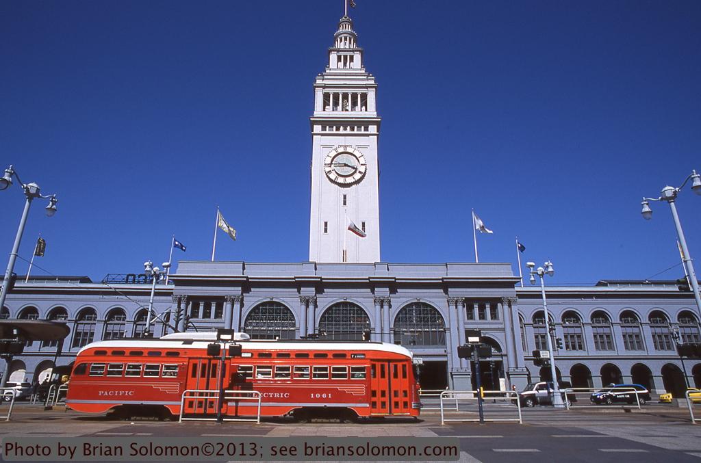 PCC car San Francisco