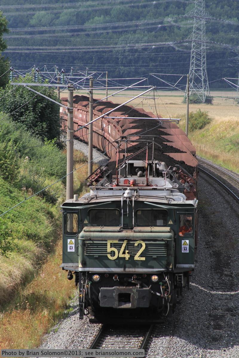 RWE Power coal train.