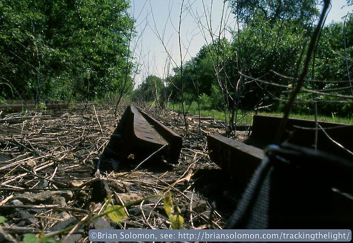 Abandoned track