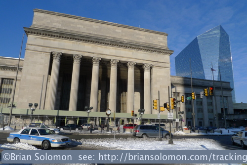 30th Street Station from the 29th Street side. Lumix LX3 photo
