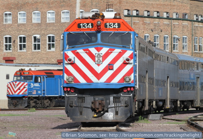 I'd only had my Canon EOS 7D for a few weeks when I made this study of geometric shapes. Metra F40PHs at Harvard made for a colorful subject. Exposed with my Canon 200mm lens handheld at f13 1/250th of a second.