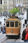 Real old tram; really interesting ancient city. Canon EOS 7D with 100 mm lens.