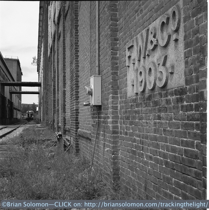 Mass-Central at South Barre, Massachusetts. Exposed on Tri-X using a Rolleiflex Model T with Zeiss Tessar lens.