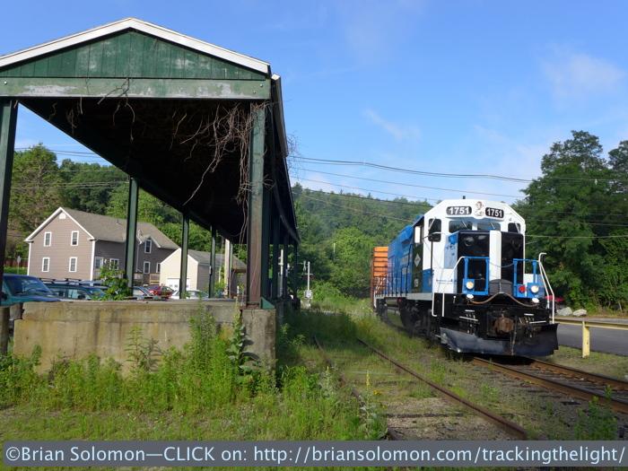 Thorndike, Masschusetts on the morning of July 10, 2014. Lumix LX7 photo.