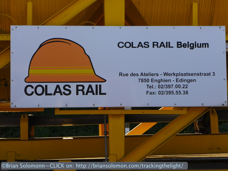 Colas is a company with a hand in many businesses. They run trains in the UK too.