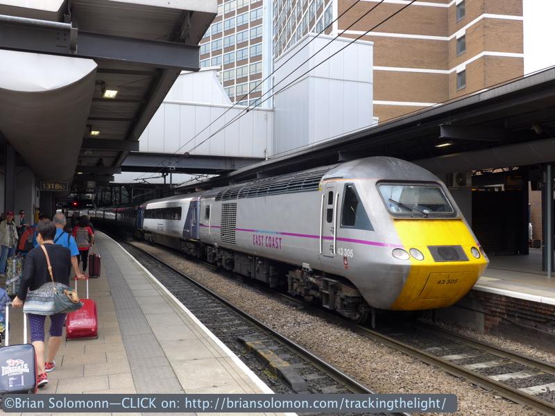 HST, another view at Leeds. Lumix LX7 photo.