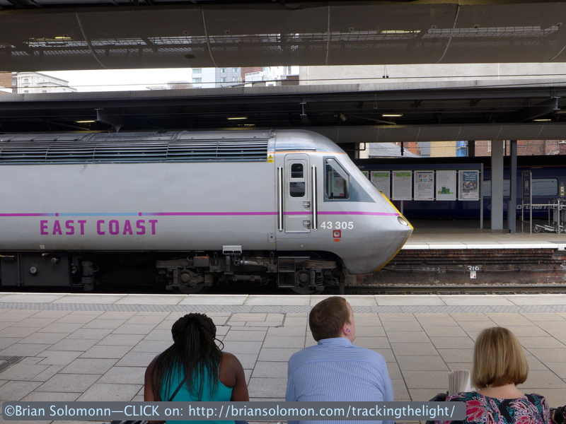 You have to love the old HSTs. The train that saved long distance passenger services in Britain. Study this story, there's lessons to be learned! Lumix LX7 photo.