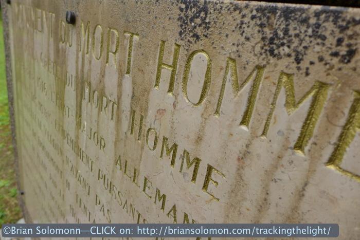 Mort Homme monument