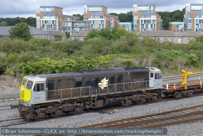 The LX7 is easy to use and well suited to making railway photos. LX7 photo.