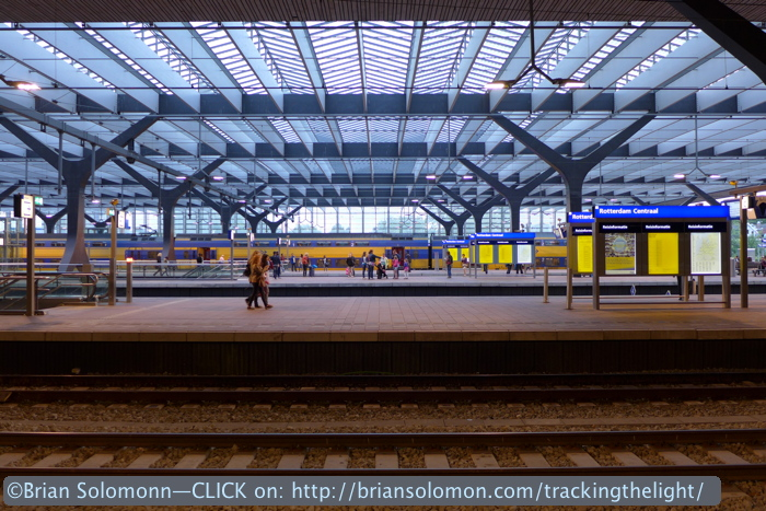 Rotterdam Centraal as photographed in August 2014. Lumix LX7.