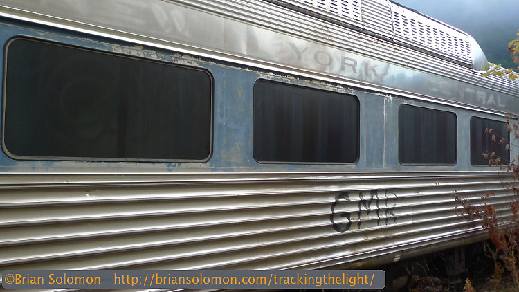 New York Central was first to install Budd Rail Diesel Cars in revenue service. They were known as 'Bee Liners.' Exposed digitally with a Lumix LX3.