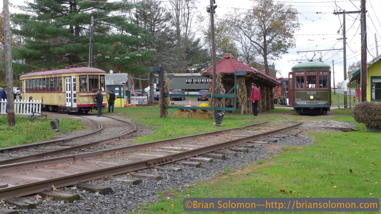 Connecticut Trolley Museum at Warehouse Point.