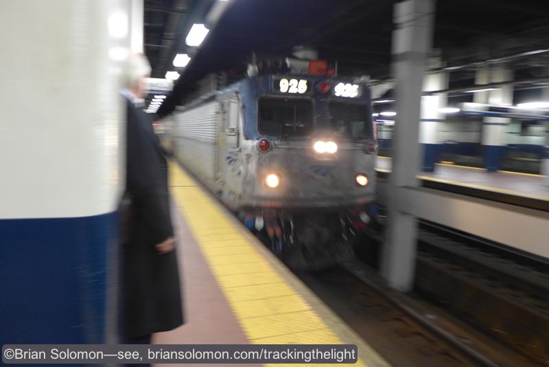 Amtrak 56 arriving at 30th Street.
