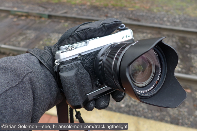 Fuji X-E2 fitted with 18-55mm lens exposed with a Lumix LX7.