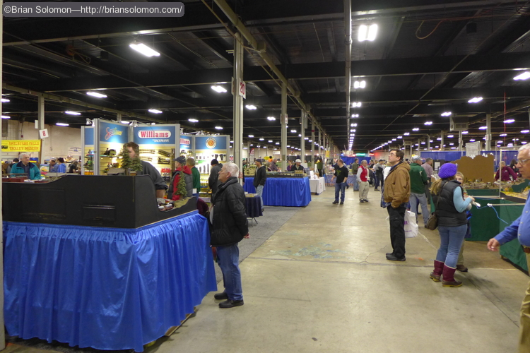 The Big Railroad Hobby Show fills four buildings at the Big E in West Springfield, Massachusetts.