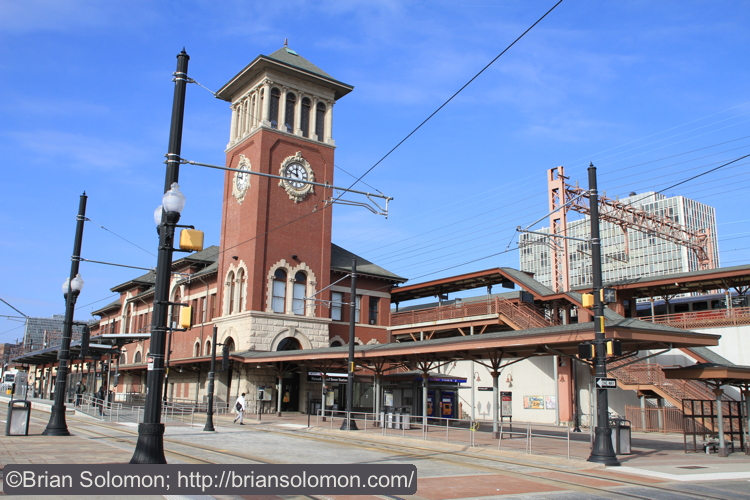 Newark Broad Street Station on January 15, 2015. Exposed with a Canon EOS 7D with 20mm lens.