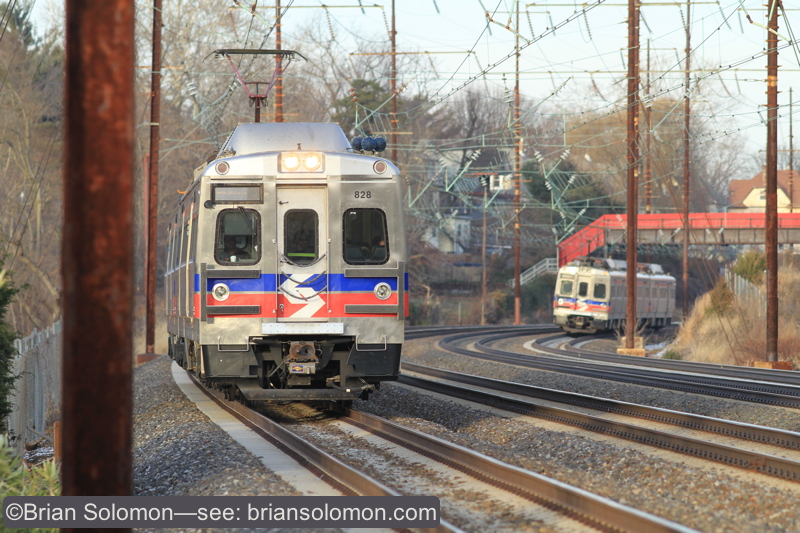 The same two trains a few moments later. Canon EOS 7D with 200mm lens. ISO 400.