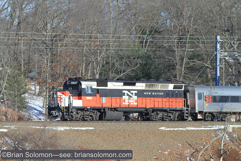 Exposed near Branford, Connecticut on the old New Haven Railroad Shore Line route using a Canon EOS 7D with f2.8 200mm lens set at f5.6 1/1000th of a second.