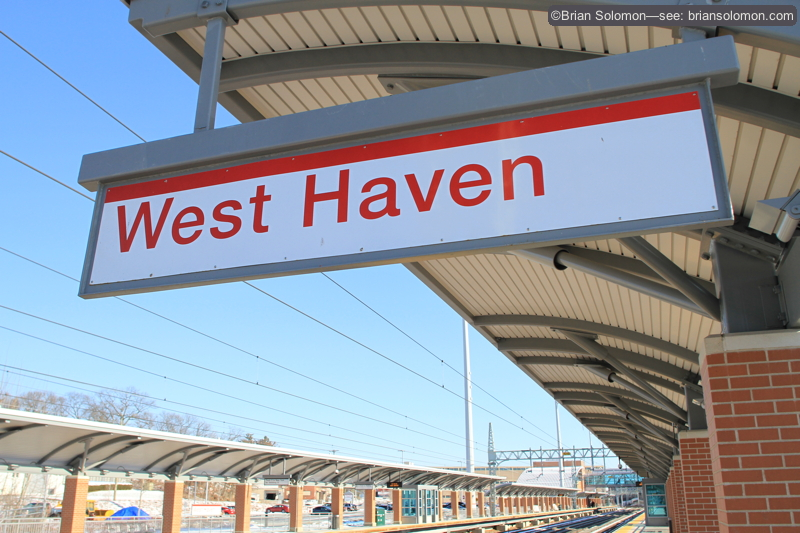 Metro-North's West Haven station opened in 2013.