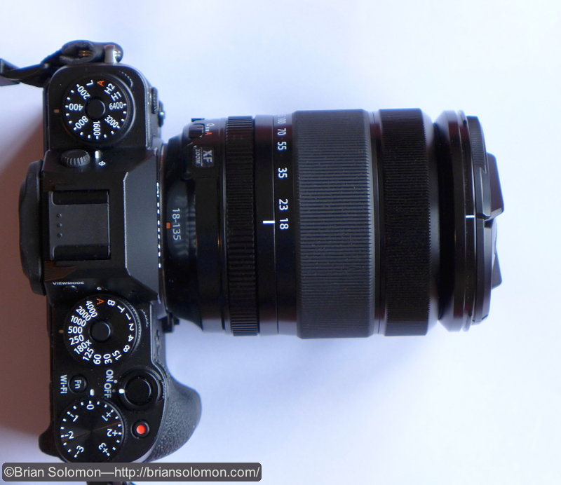 Here it is; my Fuji X-T1 with 18-135mm lens. Now to embrace the learning curve!
