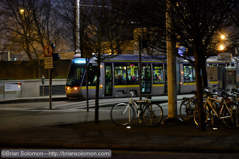 On February 10, 2015, i brought the X-T1 down to Dublin's Heuston Station. I upped the ISO to 6400 and made a variety of hand-held views at dusk. Not bad for high-ISO.