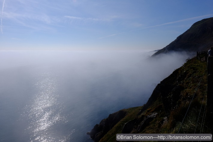 Sea fog made for atmospheric images.