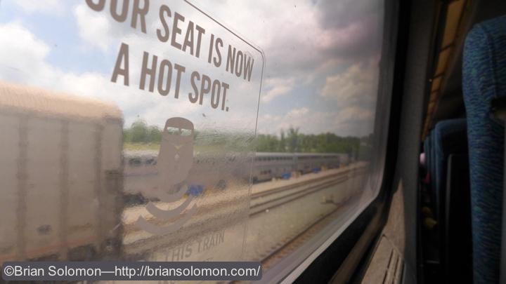 Lorton, Virginia where the Auto Train is loaded.
