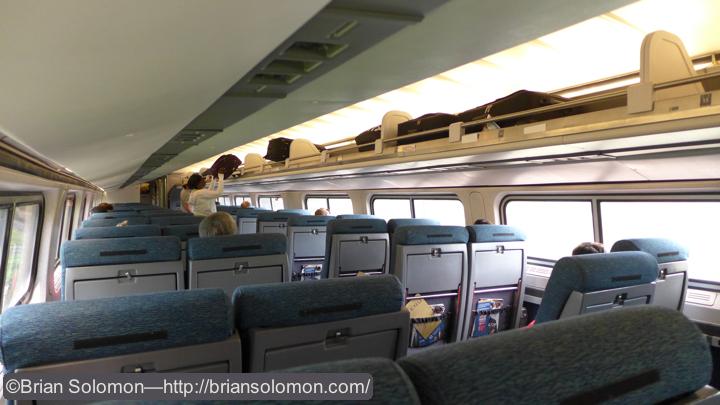 On board Amtrak 94.