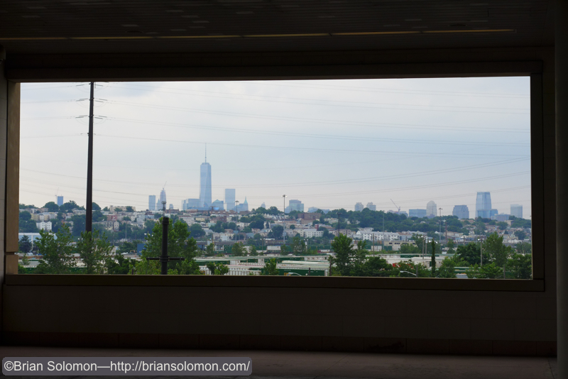 New York City as viewed from Secaucus.