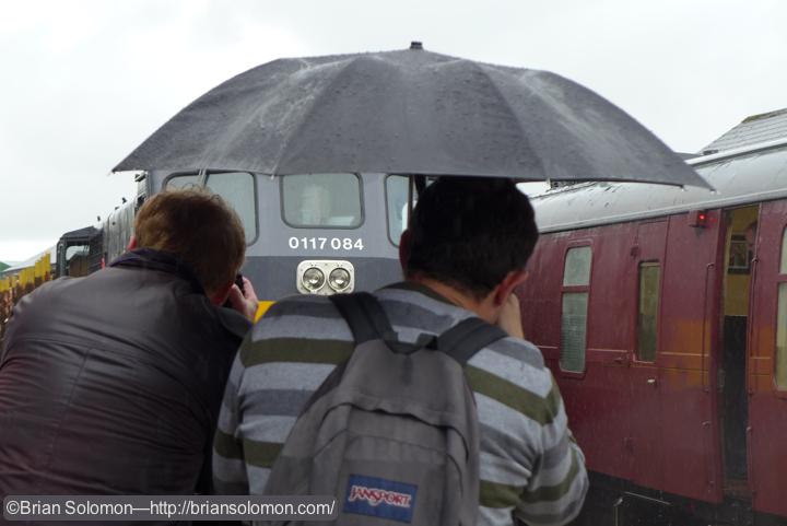Umbrella photography.